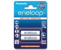 Panasonic Eneloop AAA NiMh akku 2db-os