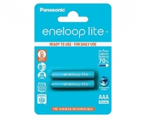 Panasonic Eneloop lite AAA NiMh  akku 550mAh  2db-os