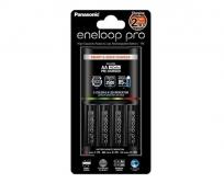 Panasonic Eneloop Pro 2h akkutöltő+4db Pro 2500mAh akku