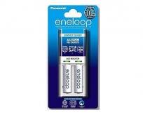 Panasonic Eneloop 2 led töltő+ 2db AA 1900mAh akku