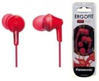 Panasonic Ergofit red fülhallgató