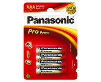 Panasonic LR03 AAA 4db-os elem