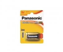 Panasonic Power Alkaline 6LR61 9V elem