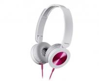 Panasonic RP-HXS220E-P fejhallgató pink-fehér