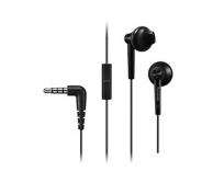 Panasonic RP-TCM50E-K sztereó fülhallgató mikrofonnal fekete
