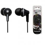 Panasonic fülhallgató Ergofit fekete