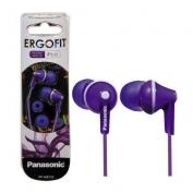 Panasonic fülhallgató Ergofit viola