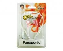 Panasonic fülhallgató MP3 pink