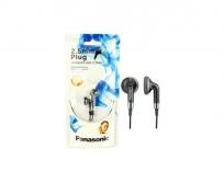 Panasonic 2,5mm jack fülhallgató MP3 fekete