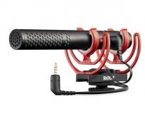 RODE VideoMic NTG professzionális kamera és USB mikrofon Rycote Lyre vakupapucs felfüggesztéssel