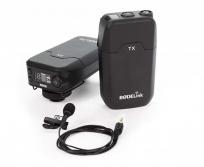 Rode Filmmaker Kit vezeték nélküli kamera mikrofon csíptetős mikrofonnal