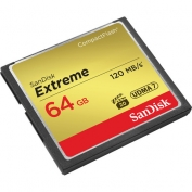 SanDisk 64GB CF Extreme 120MB/s memoriakártya