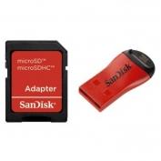 SanDisk MicroMate SD mobilkártya olvasó/író + SD adapter