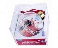 Shot2Go fényképes gömb karácsonyfadísz