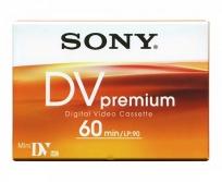 Sony DVM-60 premium miniDV kazetta