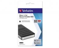 "Verbatim 2,5"" HDD 1TB USB 3.1 Secure Portable"