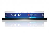 """Verbatim CD-R lemez, 700MB, 52x, hengeren, VERBATIM """"DataLife"""" 1"""