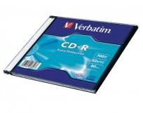 Verbatim CD-R lemez 700Mb 52x Slim tokos