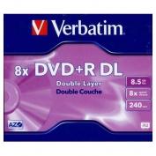 Verbatim DVD+R  lemez kétrétegû 8.5 GB 8x